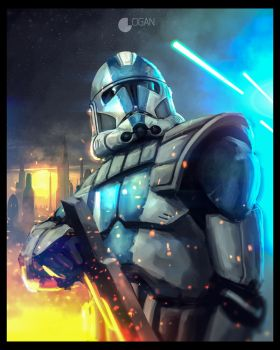 Star Wars: The Clone Wars - Clone Trooper by CharlesLogan