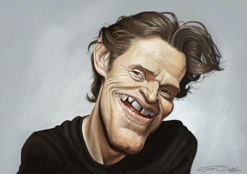 WILLEM DAFOE by JaumeCullell