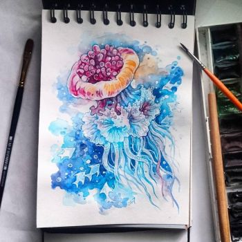 Instaart - Jellyfish by Candra