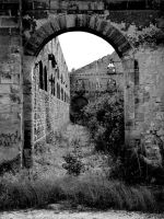 Niel barracks in ruin part 3/6 by The-Underwriter