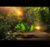 Green object by Statique77