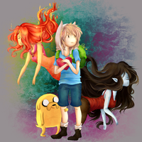 Love's Crisis - Adventure Time by pauexe
