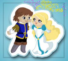 Swan Princess: A Cute Couple by Sugar-crazy-fox