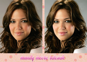Retouch Mandy Moore by theskyinside