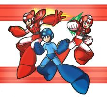 Mega Man 6 : Rush Adapter by SaitoKun-EXE