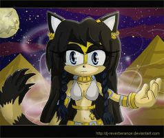 Bastet the Cat by Dj-Reverberance