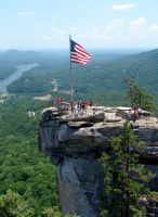 Chimney Rock, NC by Claimjumper