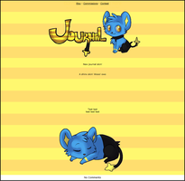 Shinx Journal Skin by Vaccinekiss