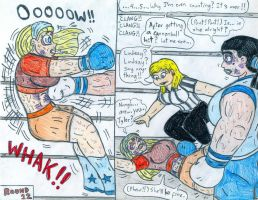 Boxing Eva vs Lindsay 3 by Jose-Ramiro
