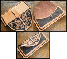 Leather cell case by simoniculus