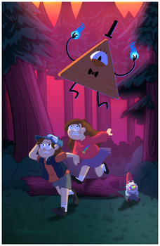 Gravity Falls - Weirdmageddon by Pwneropwnage