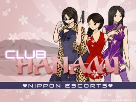 Club Hanami Girls by Khellendrathas