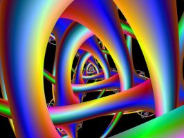 Trippy Tunnel by hippychick-nm