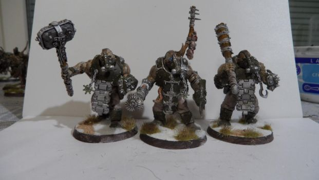 Renegade Ogryns by Dible