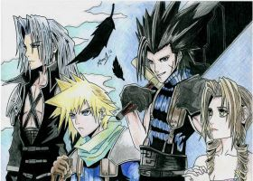Crisis Core Final Fantasy VII by BOSHHIDO