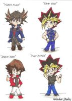 Yu-Gi-Oh Chibis by Animaker131