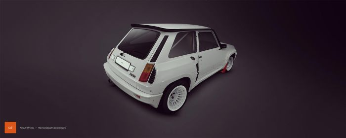 Renault 5 Turbo by AeroDesign94