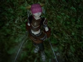 Lineage II - female dwarf by l2zerk