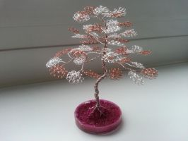my first wire tree by Karo1987