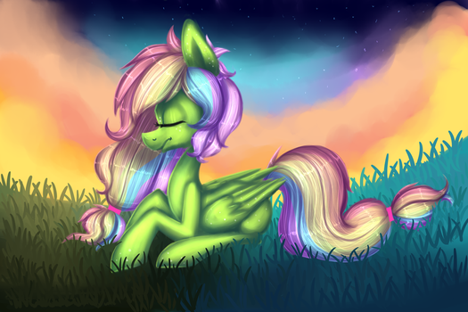 Coloured Skies by Pinipy