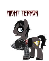 Alice Cooper pony: Night Terror by Runya-Isamu