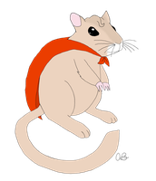 Commission: Gerbil of Steel by Pikanite