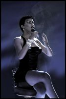 Lady Sings the Blues by dylazuna