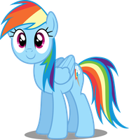 Vector #117 - Rainbow Dash #19 by DashieSparkle