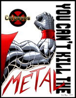 Colossus: You Can't Kill the Metal by AzizDraws