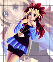 Speedpaint: Genderbent Yuugi by Sarky-Sparky