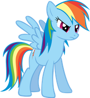 Rainbow Dash discussing Trixie by FabulousPony