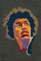 Jimi Hendrix by Temple00