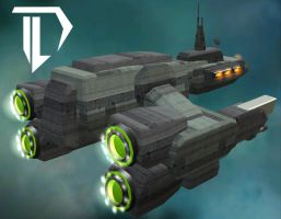 The Liberator capital ship by Devil-D-IND