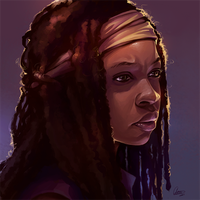 Michonne1 by Syllirium