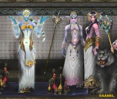 Children of Noble Birth 2 Detail 3 by Vaanel