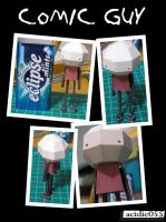Comic Guy Papercraft by acidic055