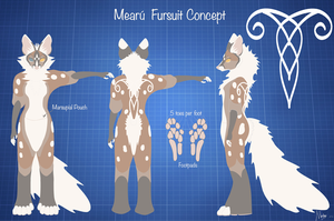 Mearu Fursuit Concept by Quoosa