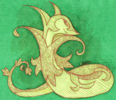 Serperior by Zeephyra