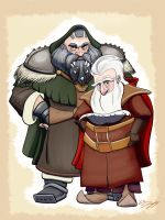 Balin and Dwalin, Sons of Fundin by moviedragon009v2