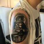 Dath Vader Tattoo by Kingoart