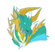 Zinogre head shot by Karaikoro