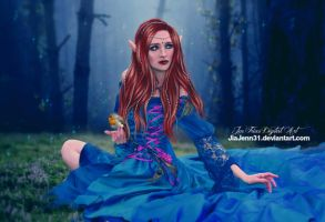 Into the blue, Queen Fairy by JiaJenn31