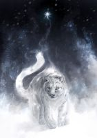 Panthera uncia by Delun