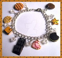 Cookie Charm Bracelet by cherryboop