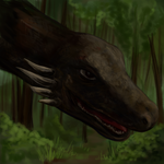 Dragon in the forest by pokePiterr