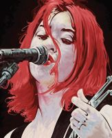 miki berenyi of Lush by jirogam