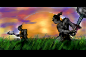 Duelling banjos by corvid