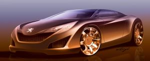 Sample of my Car design work 4 by wisign