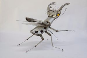 Stag Beetle by HubcapCreatures