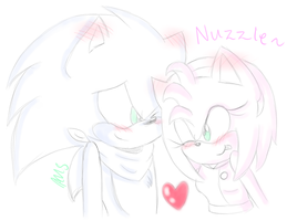 Nuzzle! by Adelicorn